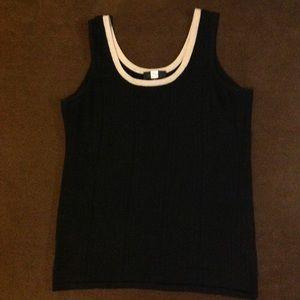 Saks Fifth Avenue Knit Tank Top